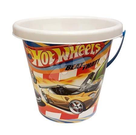 Kültéri játékok - Homokozóvödör Hot Wheels Divertoys 16 cm