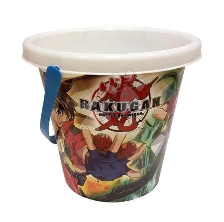 Kültéri játékok - Homokozóvödör Bakugan Divertoys 16 cm