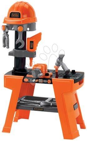 Pracovní dětská dílna - Pracovní dílna Black&Decker Écoiffier 74 cm výška s 25 doplňky od 18 měsíců