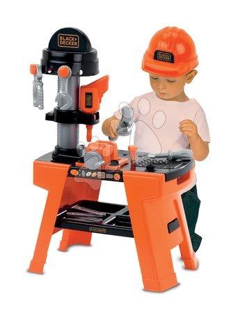 Pracovní dětská dílna - Pracovní dílna Black&Decker Écoiffier 74 cm výška s 25 doplňky od 18 měsíců_1