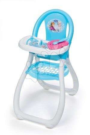 Jedálenská stolička Frozen Smoby pre 42 cm bábiku s doplnkami