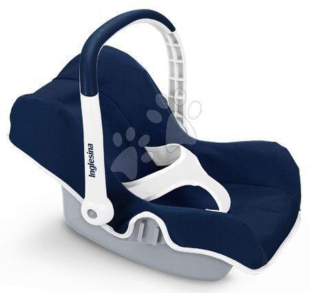 Autosedačka Shara Inglesina White&Blue Smoby pre bábiku modrá 32*35*47 cm