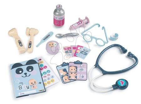 Medicinska kolica za djecu - Medicinski kovčeg za medicinsku sestru Baby Care Smoby s 19 dodataka i naljepnicama_1