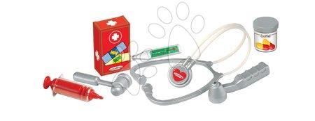 Medicinska kolica za djecu - Medicinski kovčeg Écoiffier s prvom pomoći i 7 dodataka od 18 mjes_1