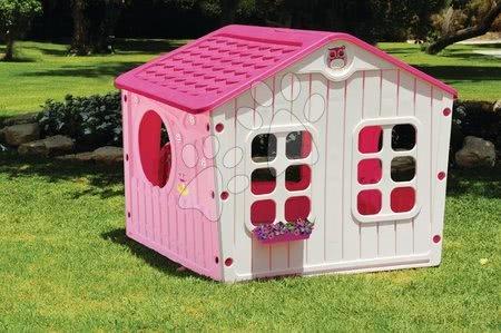 Detský domček Galilee Village House Starplast od 2 rokov ružovo-biely