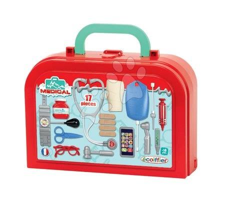 Medicinska kolica za djecu - Medicinski kovčeg Medical Écoiffier sa 17 dodataka od 18 mjes