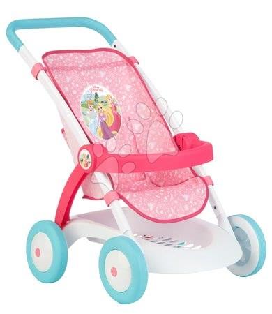 Princese - Sportska kolica Pastel Princeze Disney Smoby za lutku od 42 cm, visina rukohvata 58 cm, 57*38*58 cm od 18 mjeseci