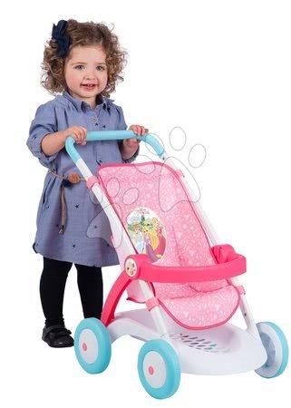 Princese - Sportska kolica Pastel Princeze Disney Smoby za lutku od 42 cm, visina rukohvata 58 cm, 57*38*58 cm od 18 mjeseci_1