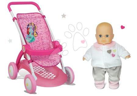 Princese - Set sportska kolica za lutku Princeze Disney Smoby s lutkom na poklon
