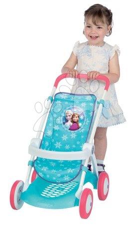 Kočárek pro panenku Frozen Smoby sportovní (58 cm rukojeť)