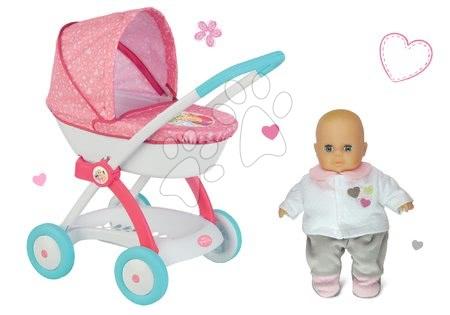 Princese - Set duboka kolica za lutku od 42 cm Princeze Disney Smoby i lutka s odjećom
