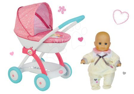 Princese - Set duboka kolica za lutku od 42 cm Princeze Disney Smoby i lutka s odjećom_1