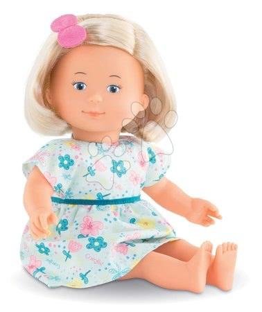 Panenky pro dívky - Panenka květinková Jasmine Florolle Ma Premiere Poupée Corolle s modrýma očima 32 cm blondýnka od 18 měs