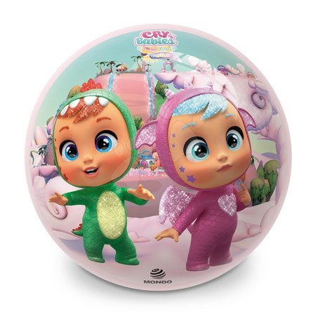 Mingi de poveste - Minge cu motiv de poveste BioBall Cry Babies Mondo 23 cm