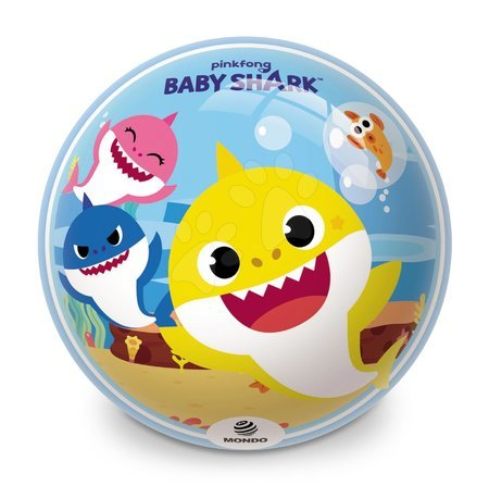 Mingi de poveste - Minge cu motiv de poveste BioBall Baby Shark Mondo 23 cm
