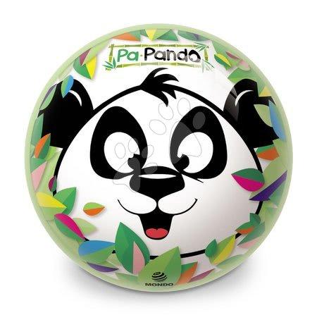 Meselabdák - Meselabda BioBalls Panda Mondo gumiból 23 cm