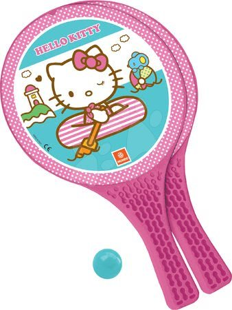 Plážový tenis set Hello Kitty Mondo s 2 raketami a loptičkou