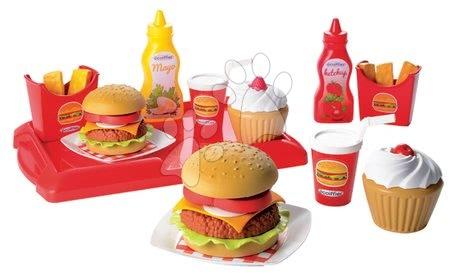 2623 a ecoiffier hamburger set