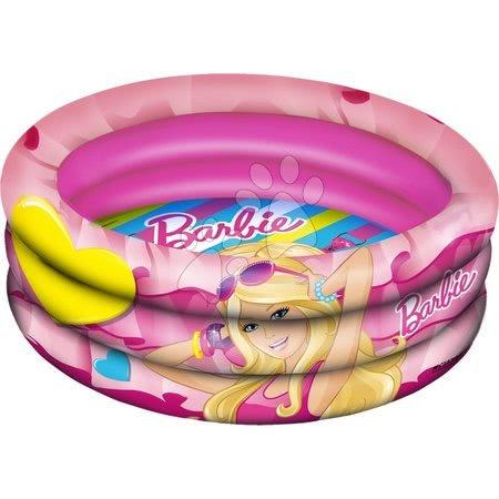 Piscine pentru copii - Piscină gonflabilă cu trei inele Barbie Mondo 150 cm de la 10 luni