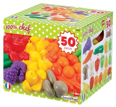 2655 a ecoiffier ovocie zelenina