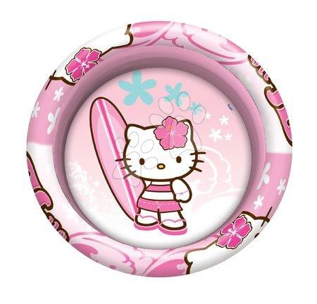 Piscine pentru copii - Piscină gonflabilă cu trei inele Hello Kitty Mondo 100 cm de la 10 luni_1