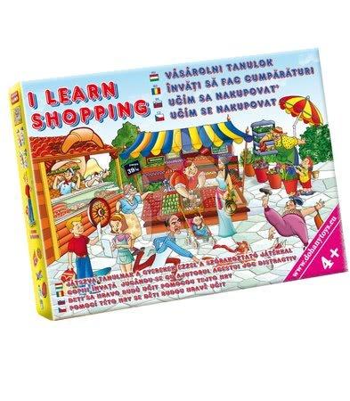 Jocuri de societate pentru copii - Joc de societate Învăţ să fac cumpărături Dohány de la 4 ani
