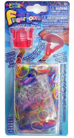 RAINBOW LOOM R0036 Finger Loom červený 600 ks