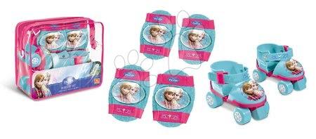 Dětské kolečkové brusle - Kolečkové brusle Frozen Mondo s chrániči velikost 22-29