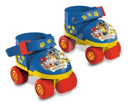 Dětské kolečkové brusle - Brusle 4kolečkové Paw Patrol Mondo s chrániči na kolena a lokty velikost 22–29_1