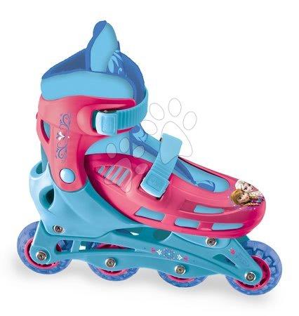 Dětské kolečkové brusle - Kolečkové brusle Frozen Mondo inline velikost 33-36 4-kolečkové od 5 let_1