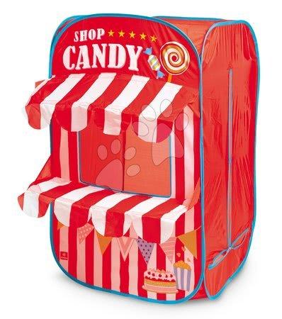 Stan obchod s bonbony Candy Shop Mondo červený