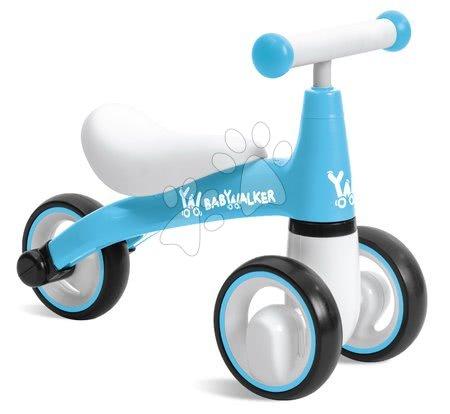 Odrážedlo Baby Walker Blue Mondo modré s ergonomickým sedadlem od 18 měsíců