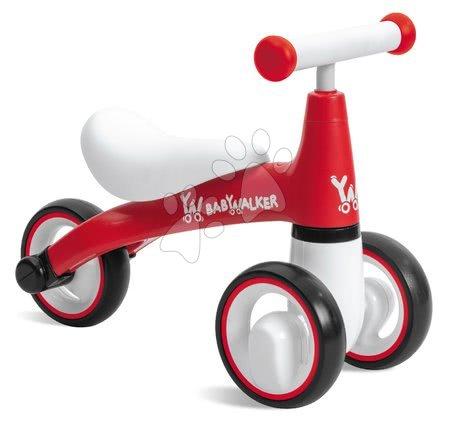 Odrážadlo Baby Walker Red Mondo červené s ergonomickým sedadlom od 18 mes