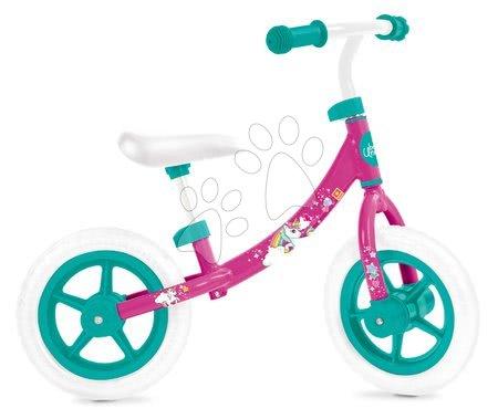 Bicicletă educativă Unicorn Mondo cu structură metalică de la 24 de luni