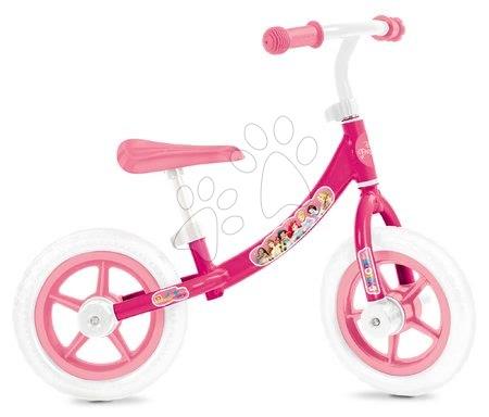Bicicletă educativă Princess Mondo cu structură metalică de la 2 ani