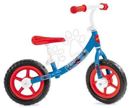 Bicicletă educativă Spiderman Mondo cu structură metalică de la 2 ani
