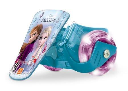 Dětské kolečkové brusle - Klip na boty s kolečky a světlem Frozen Mondo ložiska 608ZZ, PVC kolečka 68 mm průměr od 5 let