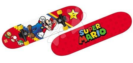 Rekreációs sport - Gördeszka Super Mario Mondo 80*20 cm, 2oldalú nyomat , 9 rétegű, PVC 50*36 mm, PP 5