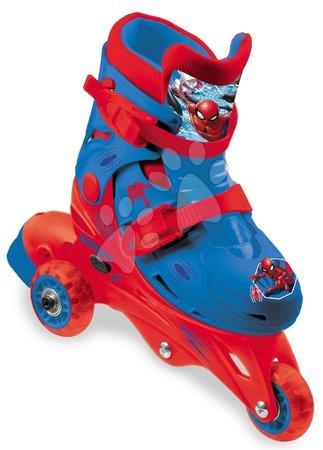 Dětské kolečkové brusle - Kolečkové brusle inline 3kolečkové Spiderman Mondo s dvojitou funkcí, PVC kolečka, 29–32 velikost_1
