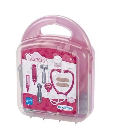 Medicinska kolica za djecu - Medicinski kovčežić za lutke Écoiffier s dodacima ružičasti od 18 mjes_1
