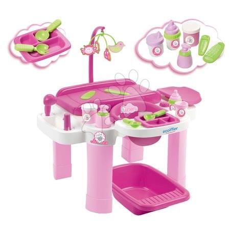 Domčeky pre bábiky - Prebaľovacia súprava pre bábiky Super Pack Écoiffier od 12 mes_1