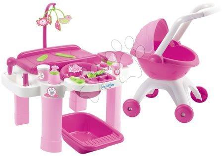 Previjalni set za dojenčke Super Pack Ecoiffier od 12 mes