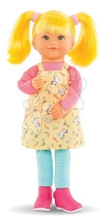 Bábiky od 3 rokov - Bábika Celeste Rainbow Dolls Corolle s hodvábnymi vlasmi a vanilkou žltá 38 cm od 3 rokov_1