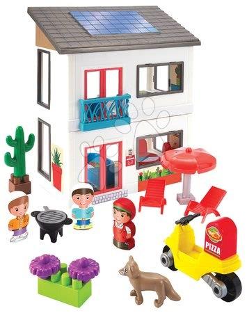 3008 a ecoiffier rodinny dom