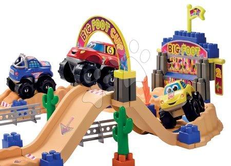 3034 a ecoiffier stavebnica rychle auta