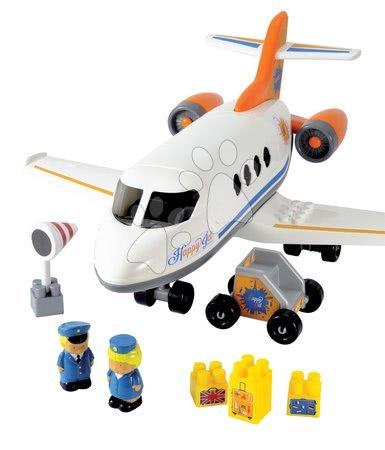 Építőjátékok - Építőjáték repülőgép Abrick Écoiffier 2 figurával 18 hó-tól