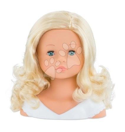 Corolle - Cap cu păr pentru coafat Hairdressing Head Corolle cu păr parfumat frumos fin și 20 de accesorii de la 3 ani