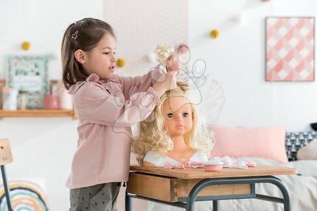 Corolle - Cap cu păr pentru coafat Hairdressing Head Corolle cu păr parfumat frumos fin și 20 de accesorii de la 3 ani_1