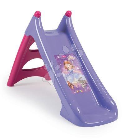 Tobogane pentru copii - Tobogan Prințesa Sofia Smoby Toboggan XS Smoby cu apă lungime 90 cm de la 24 de luni