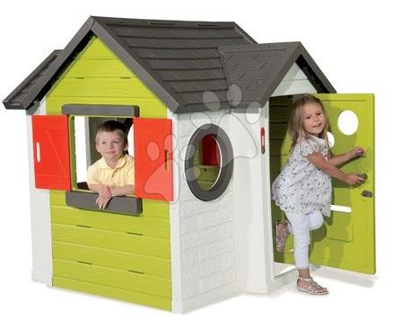 Domček pre deti My House Smoby so zvončekom a UV filtrom od 2 rokov